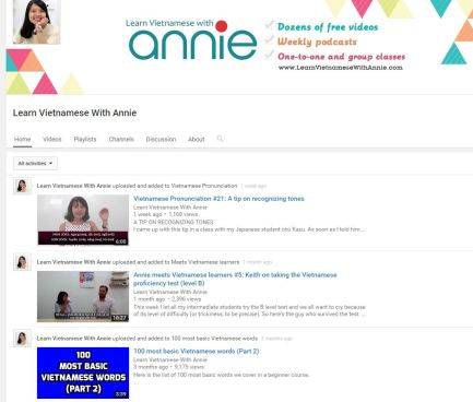 Learning Vietnamese with Annie Podcast Review – Dreamertonic