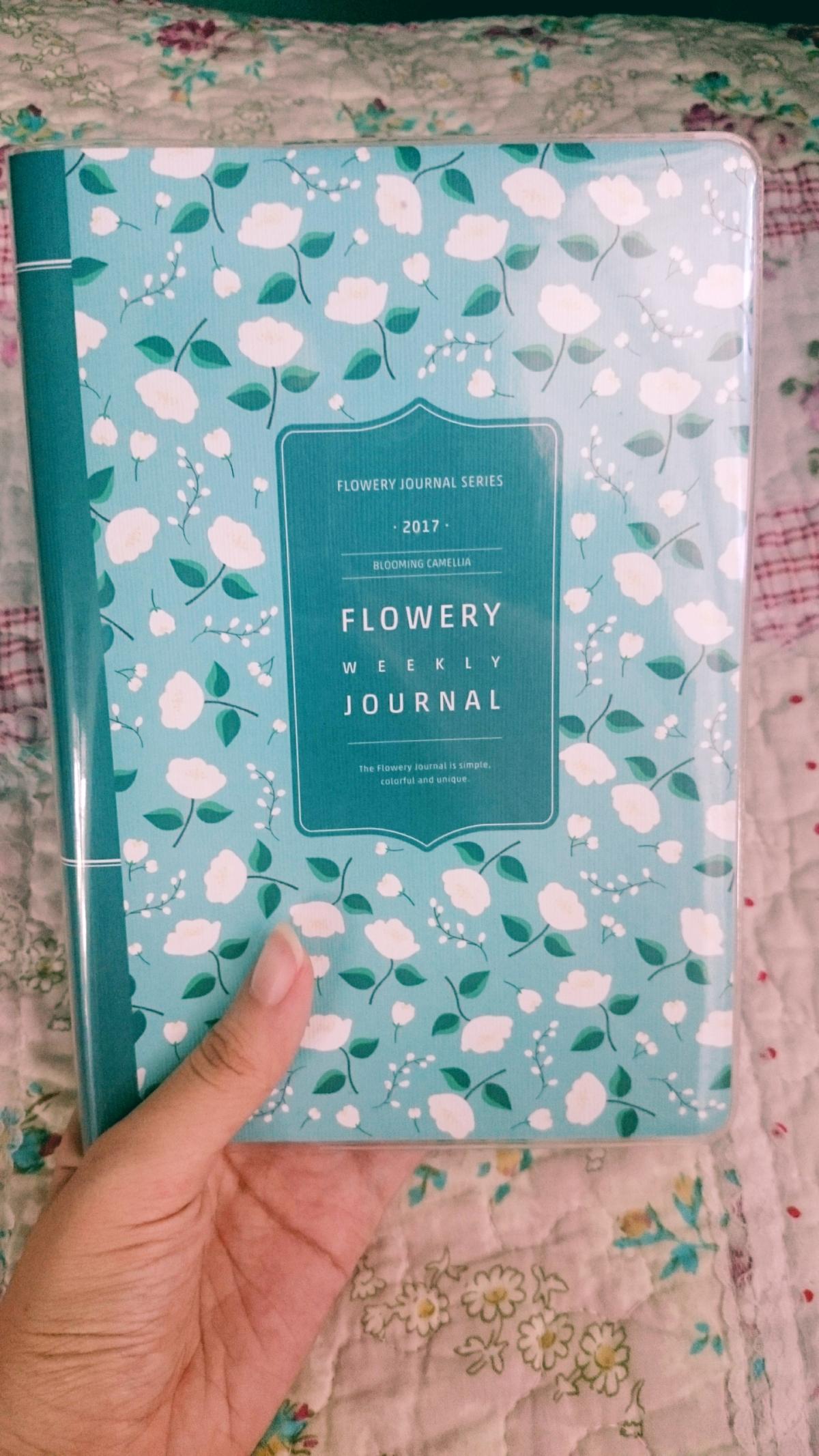 [Stationery Review] ARDIUM 2017 Flowery Weekly Journal – BloomingCamellia