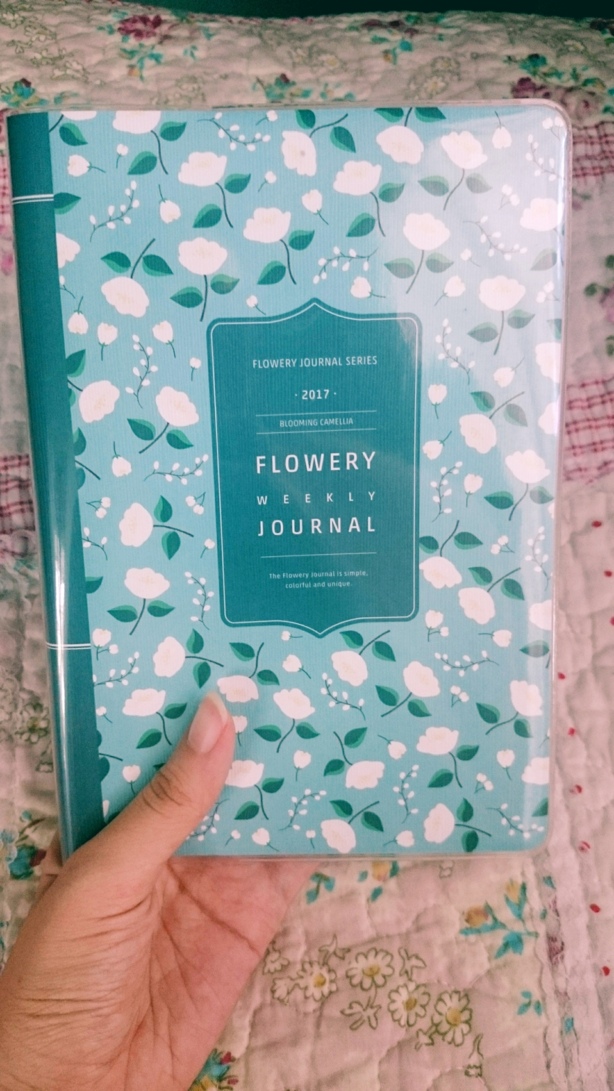 [Stationery Review] ARDIUM 2017 Flowery Weekly Journal – Blooming Camellia